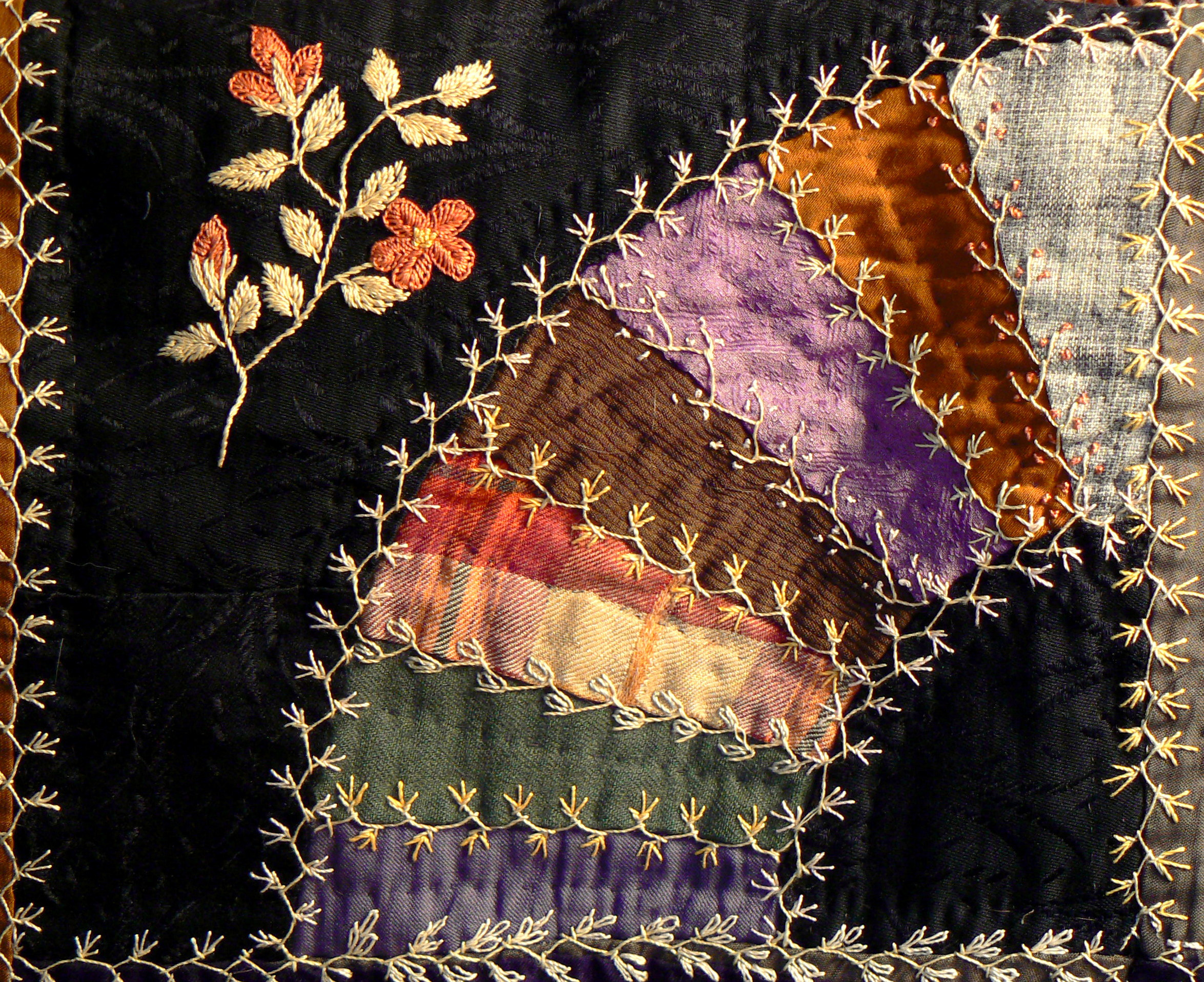 photo of antique hand sewn quilt ready for antique quilt and estate appraisal services by Jerry L. Dobesh, ASA